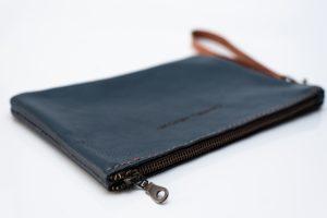 Wrist bag Navy Zip