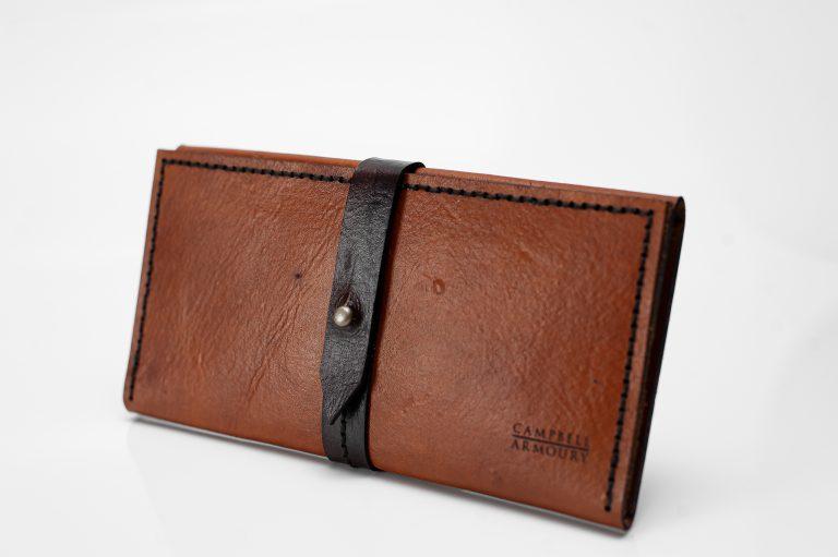 ladies wallet tan brown