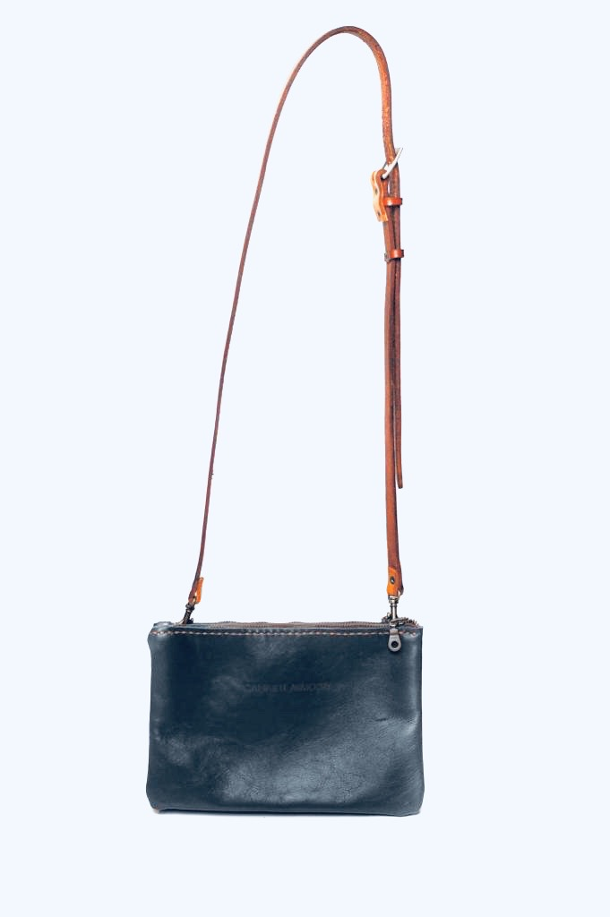 Double sling bag - navy