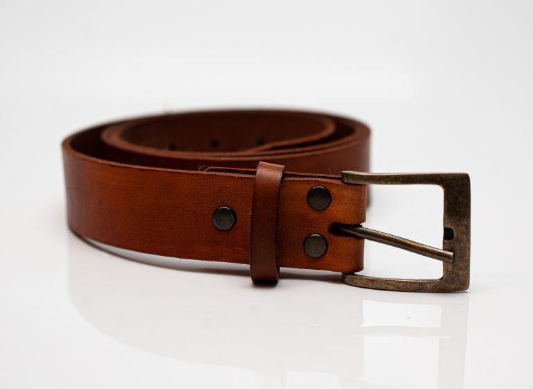 belt tan buckle