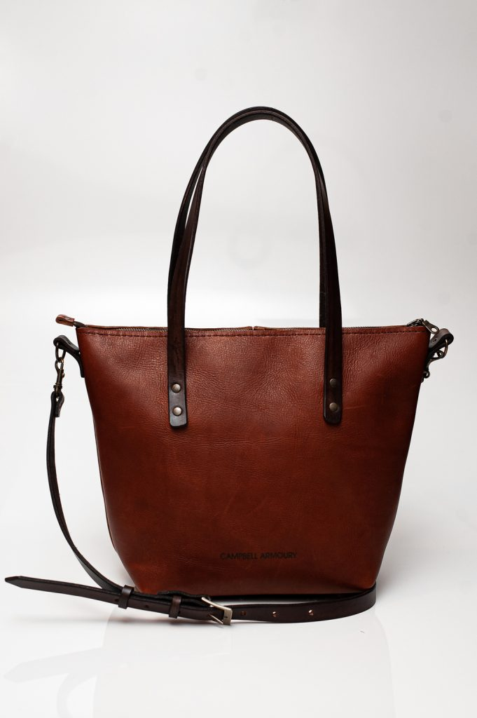 crossbody sling brown front