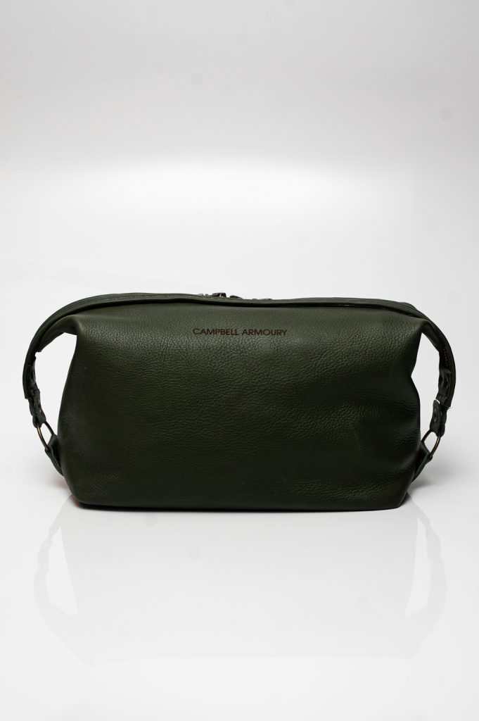 toiletry bag olive