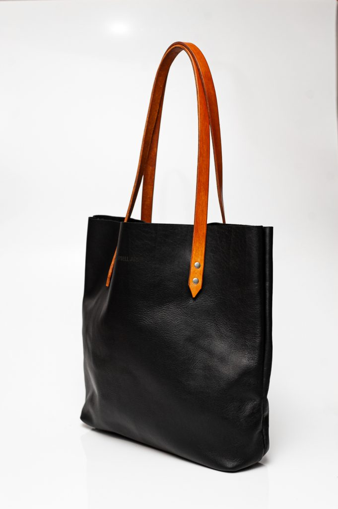 totebag black tan