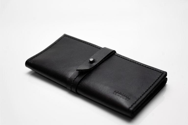 wallet large black