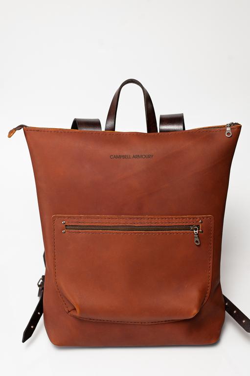 backpack rust choc