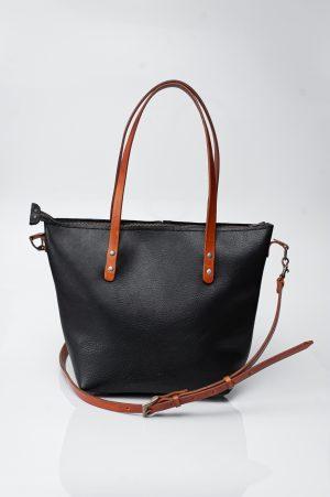 sling totebag black and brown