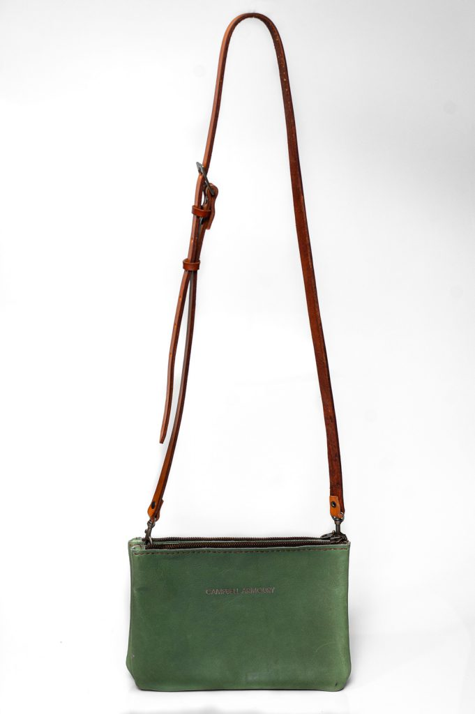 sling bag zip mint