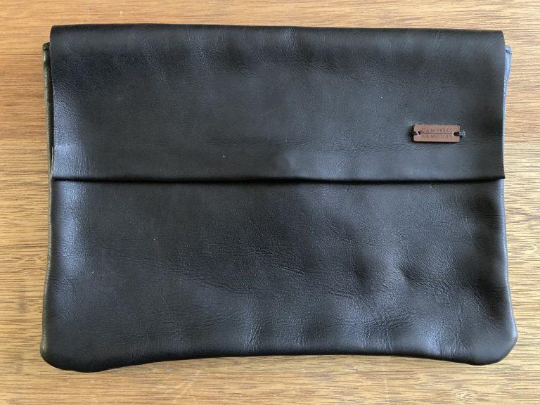 flap clutchbag black 2